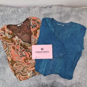 blusas talla grande segunda calidad